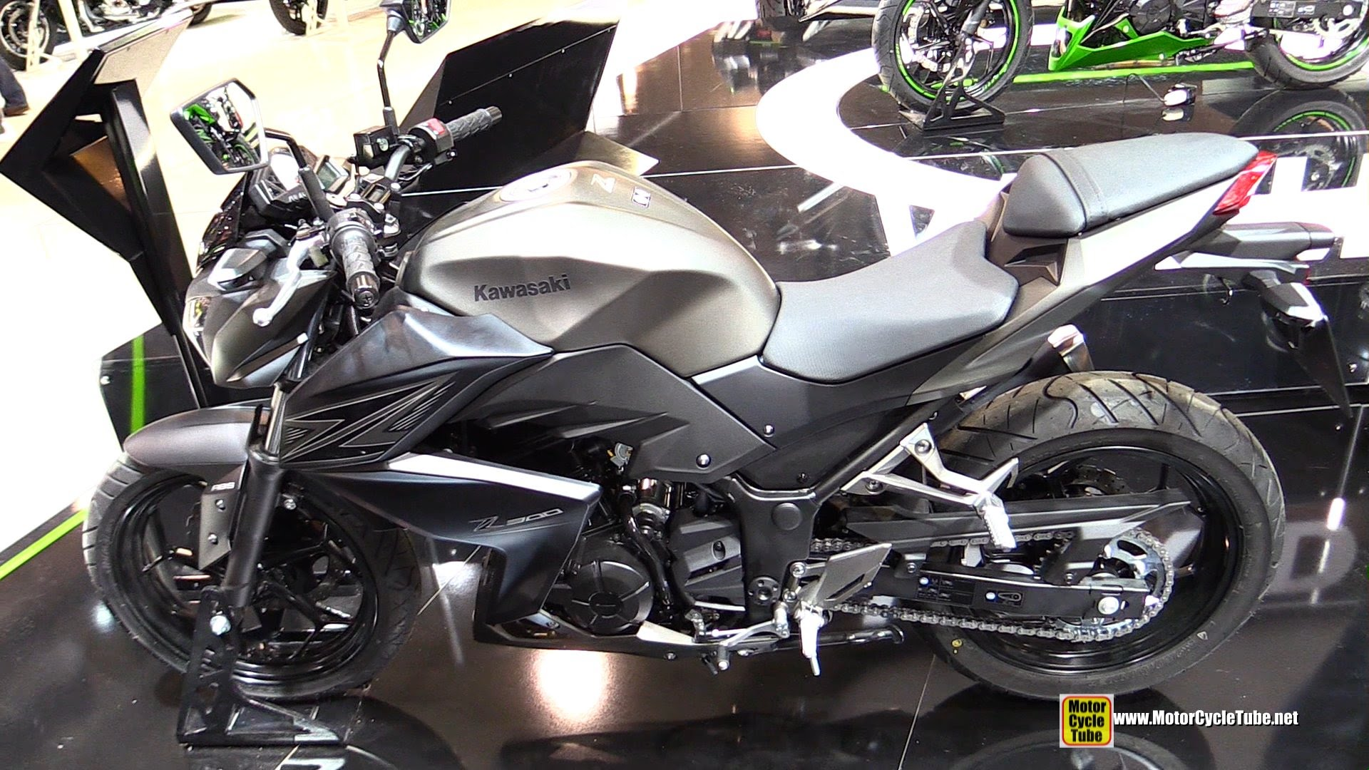 2015 Kawasaki Z300 Walkaround 2014 Eicma Milan Motorcycle Exhibition