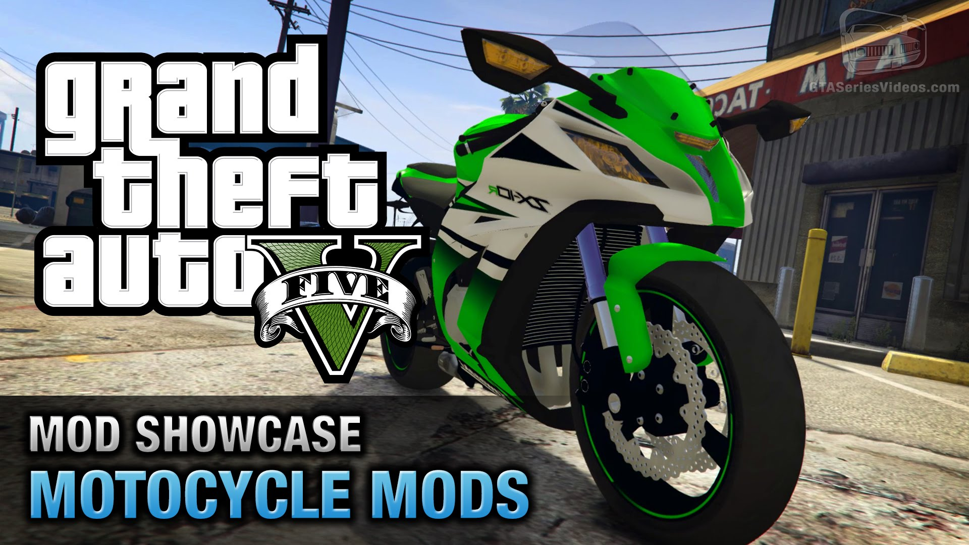 GTA 5 Motorcycle Mods