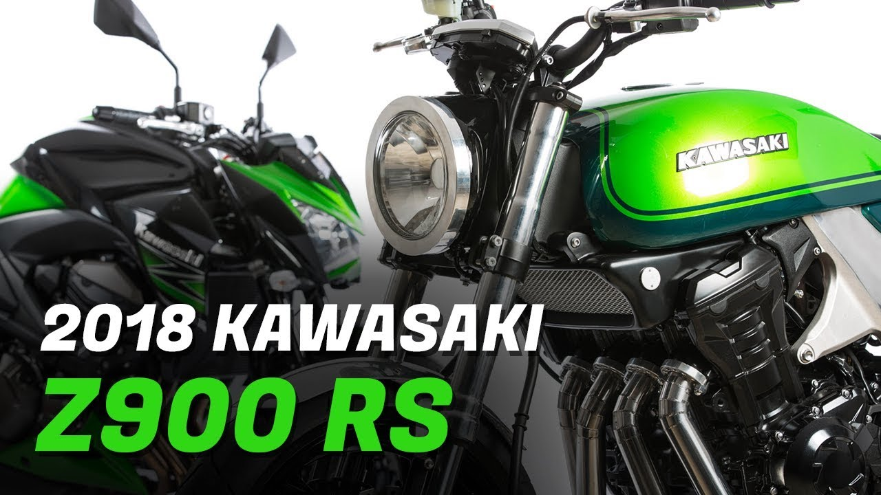2018 Kawasaki Z900 RS By MAX SPEED News