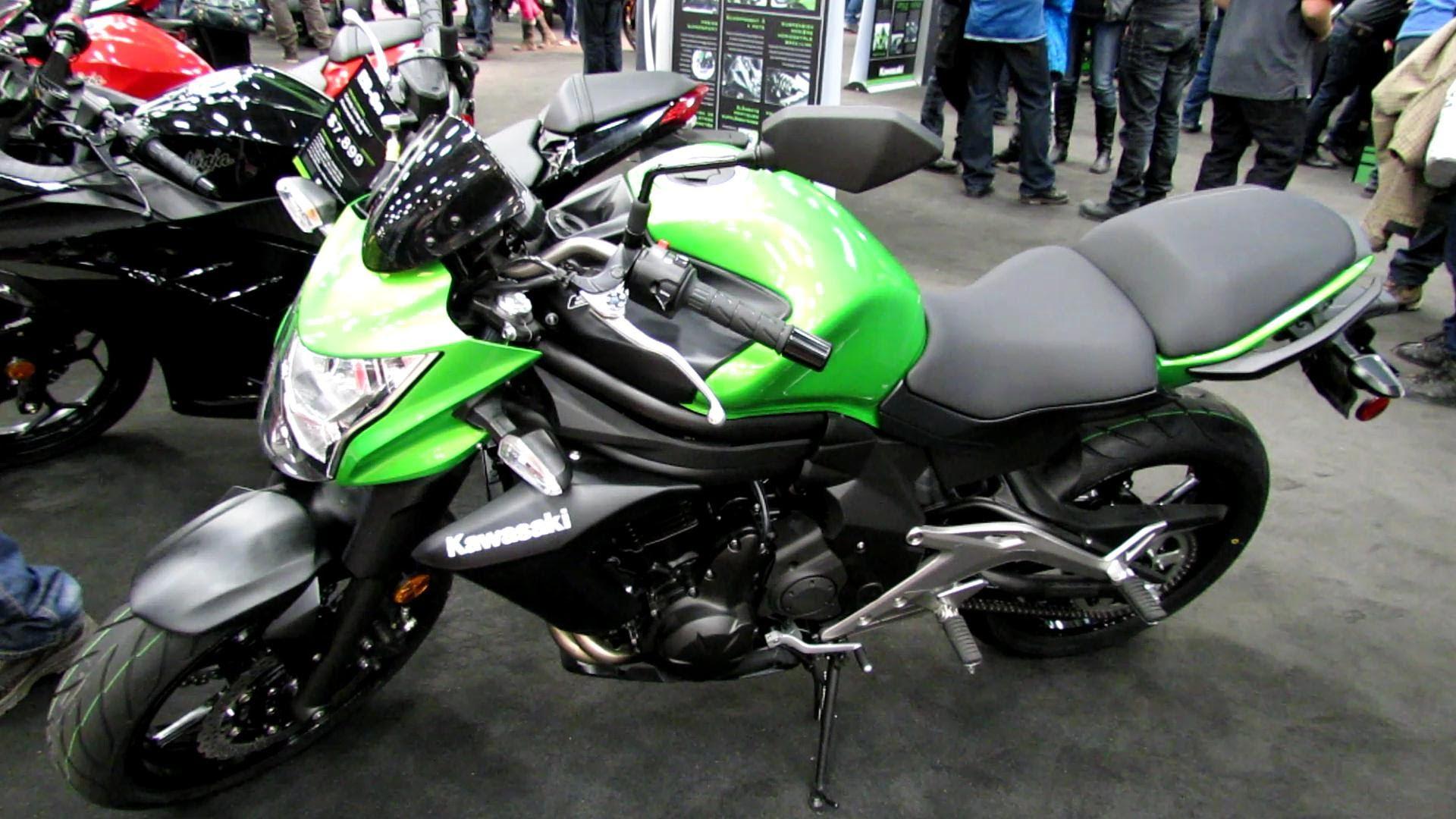 2013 Kawasaki Er 6n 650 Walkaround 2013 Quebec Motorcycle Show