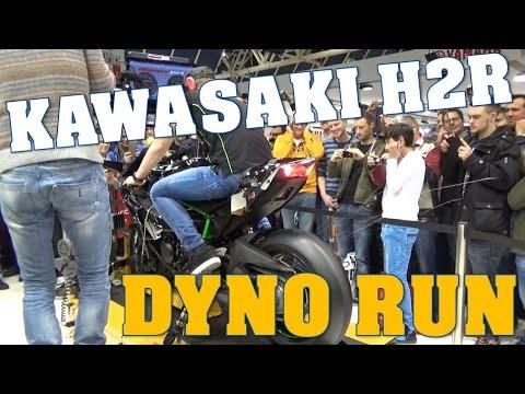 Kawasaki H Dyno Run